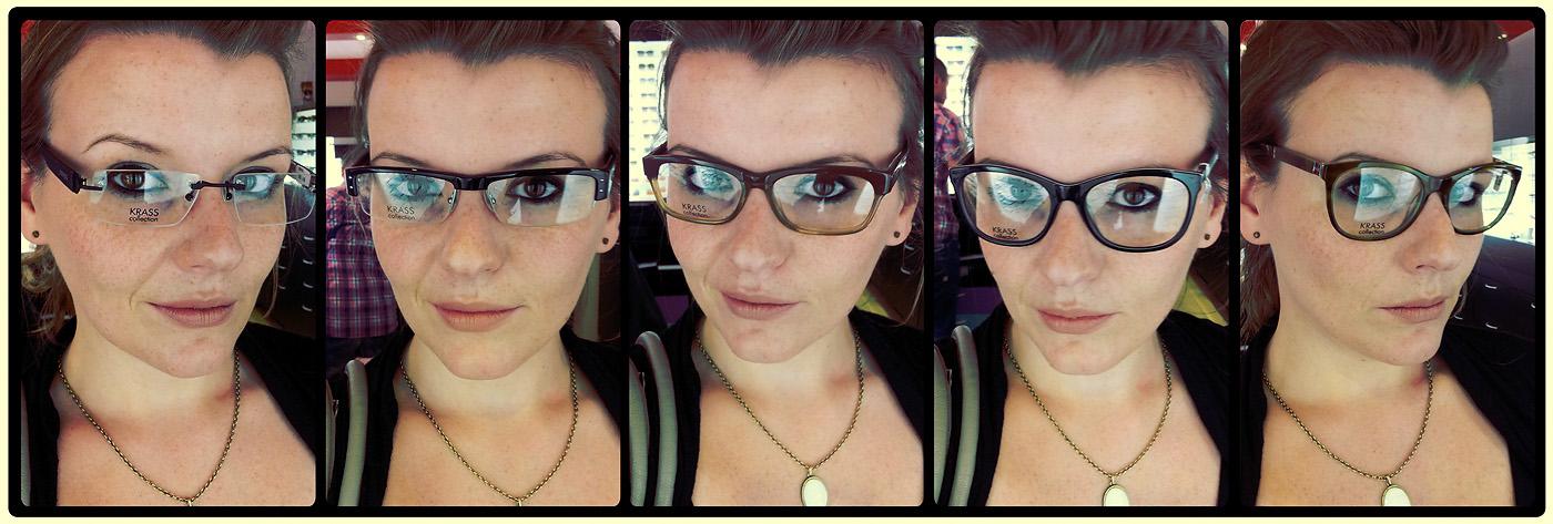 Besuch und Brillen-Anprobe beim Optiker (KRASS Optik) - Welche Brille soll ich nehmen? Welche Brille passt zu mir? Welche Brille steht mir?