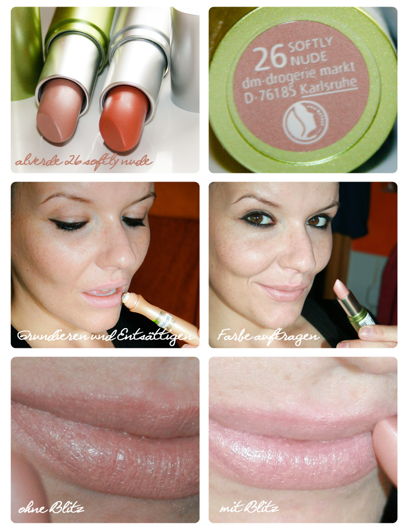 Robina Hood: alverde Lippenstift Farbe 26 softly nude