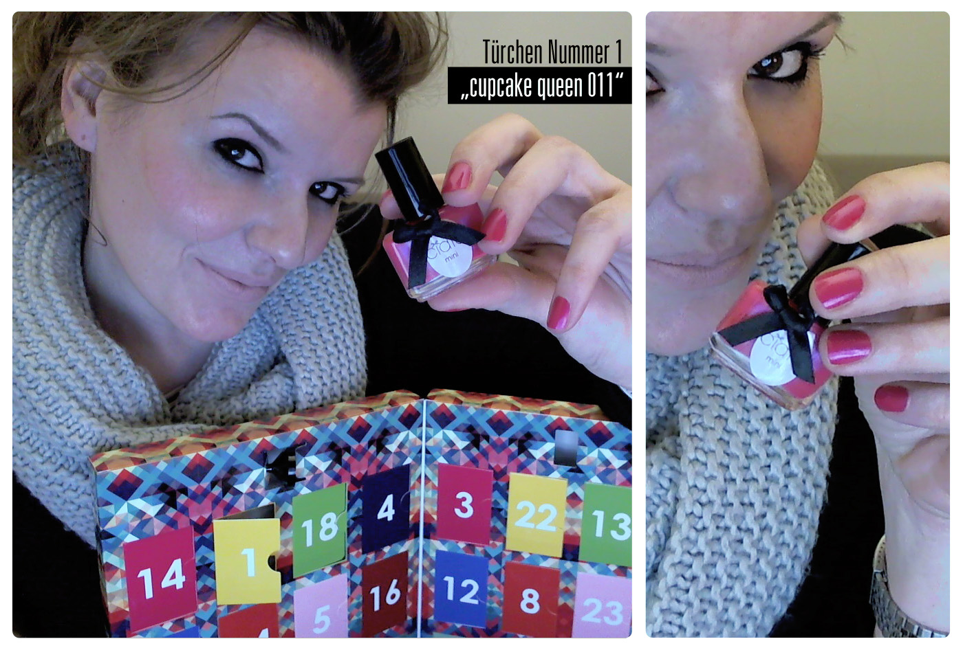"Ciaté Adventskalender ""ciaté mini mani month"" Türchen 1: ""Cupcake queen 011"""