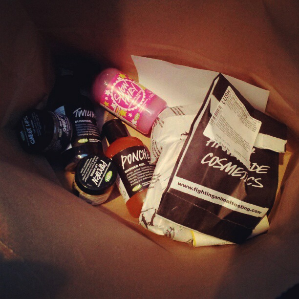 LUSH SALE Winter 2013