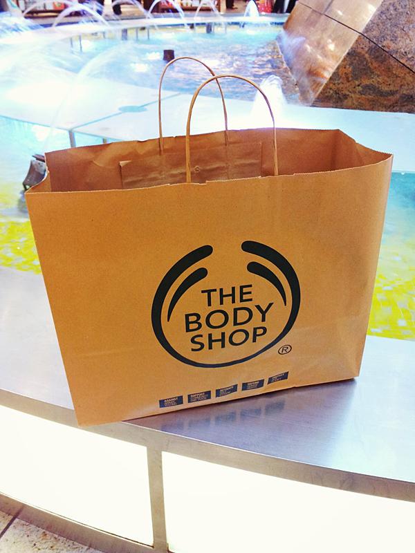 the Body Shop Haul Einkauf Dresden Altmarktgalerie