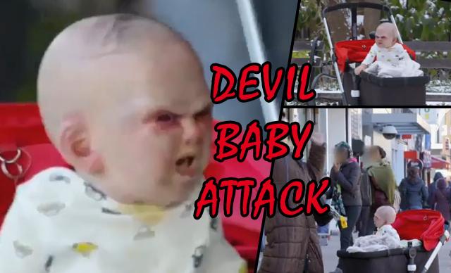 viral video prank pr devil baby attack