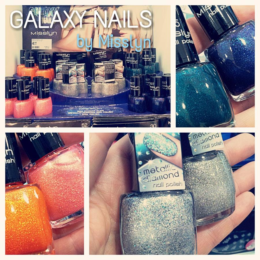 """Limited Edition Nagellacke von Misslyn """"Galaxy Nails"""": Juni und Juli 2014"""