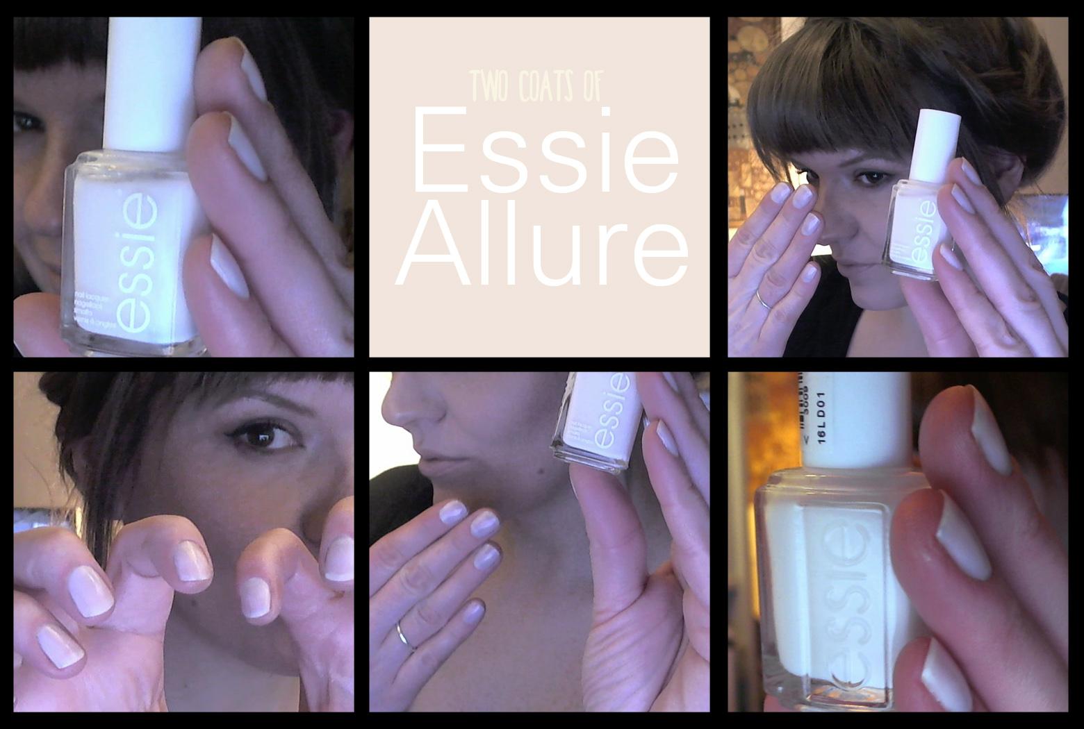 """Essie """"Allure"""" Nagellack Tragefoto"""